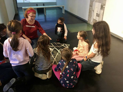 Kleine Künstler der LichtwarkSchule, Ahrensburg, Galerie im Marstall, 2020