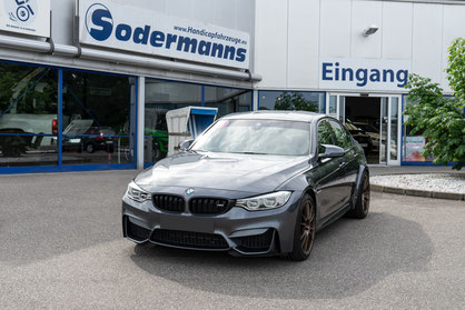 behindertengerechter BMW M3 Selbstfahrerumbau, Space Drive, Dreizack, Transferhilfe, Sodermanns