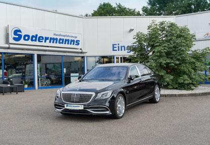 behindertengerechter Mercedes-Benz AMG Beifahrerumbau, Sodermanns