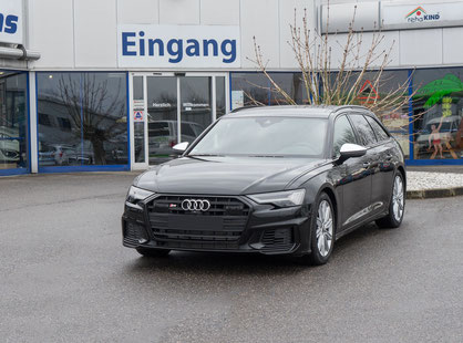 behindertengerechter Audi S6 Selbstfahrerumbau, Handgerät, Lenkraddrehknauf, Ladeboy S2, Sodermanns