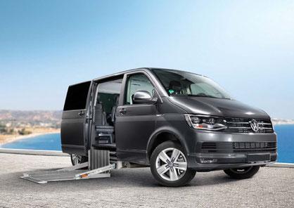 behindertengerechter Volkswagen T6.1 Fahrzeugumbau für Rollstuhlfahrer behindertengerecht Selbstfahrer, Sodermanns