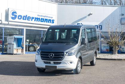 behindertengerechter Mercedes-Benz Sprinter Beifahrerumbau, Sodermanns