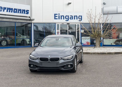 behindertengerechter BMW 430i Cabrio Selbstfahrerumbau, Linksgas, Sodermanns