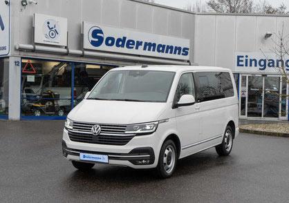 behindertengerechter Volkswagen T6 MULTIVAN Fahrzeugumbau für Rollstuhlfahrer behindertengerecht Selbstfahrer, Sodermanns