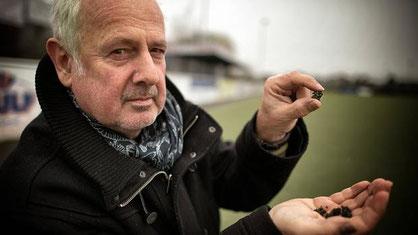 Rainer Broichgans, Vorsitzender des Tuspo Richrath, ist froh, dass die Stadt das Problem jetzt anpackt. Foto: Ralph Matzerath