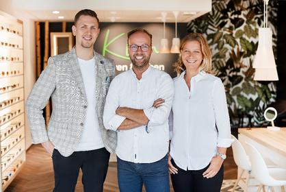 von links: Florian Bröcking, Sebastian Klein, Anne Schiedeck.