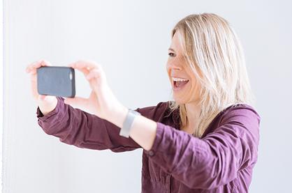 Videoproduzentin Judith Steiner vermittelt Freude am bewegten Bild