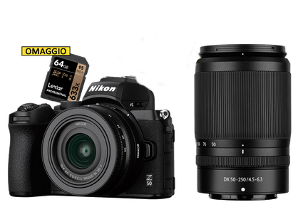 disponibile la nuova Nikon Z50, da foto ottica Sodini, centro Nikon Sardegna