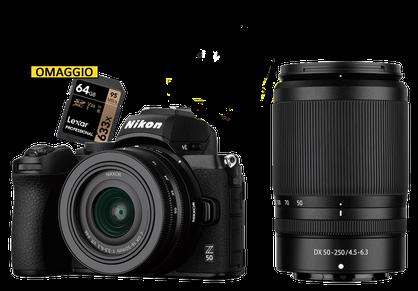 disponibile la nuova Nikon Z50, da foto ottica Sodini, centro Nikon Sardegna + sconto immediato in cassa