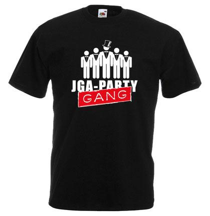 12 Junggesellenabschied tshirt herren männertour - jga party gang