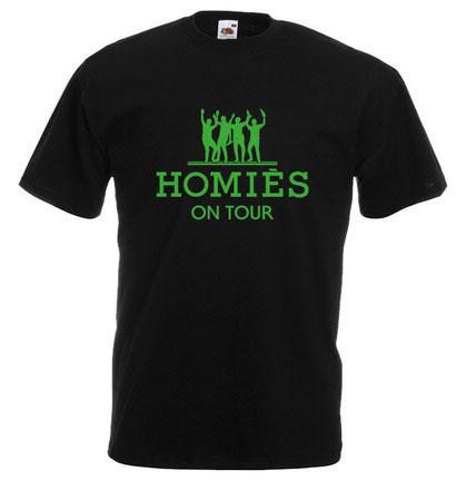 27 Junggesellenabschied tshirt herren männertour jga homies on tour