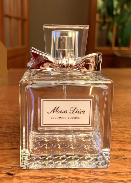 2014 - MISS DIOR BLOOMING  BUOQUET : 100 ML, FLACON VAPORISATEUR VIDE