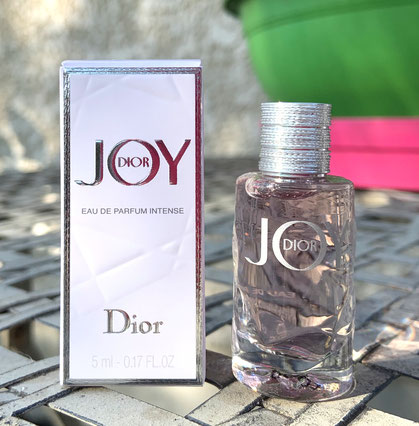 2020 - JOY DIOR : EAU DE PARFUM INTENSE 5 ML