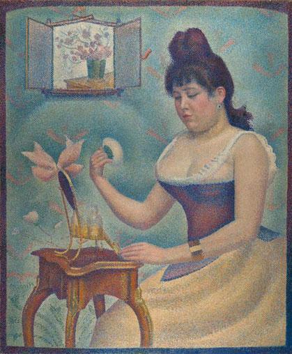 《化粧する若い女性》1889-1890年