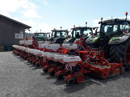 Maschineninventar Bolliger Agrar Dienste