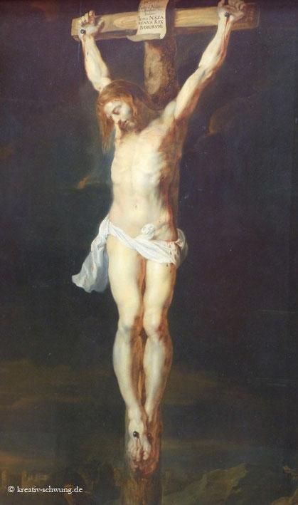 Rubens Jesus am Kreuz 1615/16, Foto: privat Pinakothek
