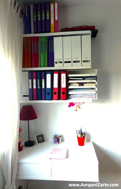 Aprovecha el espacio vertical en tu Dormitorio y coloca unas estanterías - AorganiZarte