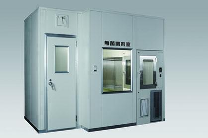 在宅医療向け 3×2m省スペース型無菌調剤室