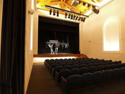 Sala e palco