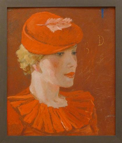 Alexander Deineka (1899-1969) : parisienne