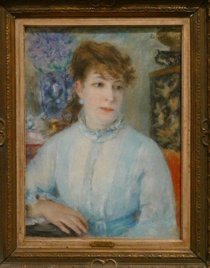 Auguste Renoir (1841-1919) : portrait d'une femme