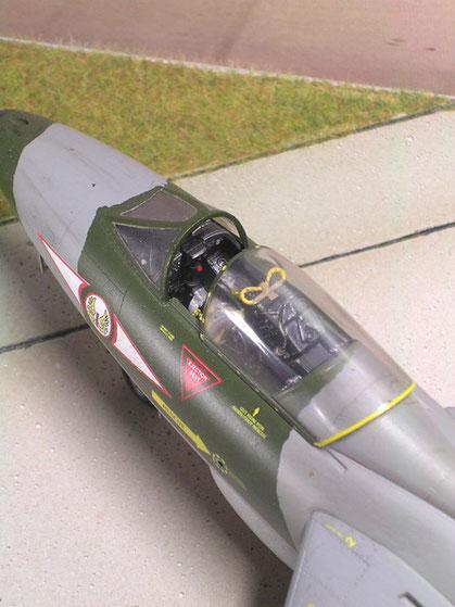 Detailliertes Cockpit