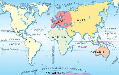foto continentes