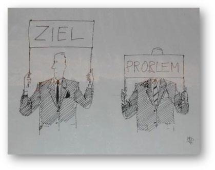 Die lösungsfokussierte Sichtweise heißt sich vom Problem lösen
