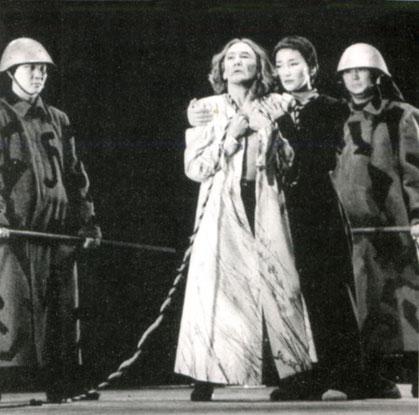 В. Шекспир. «Король Лир». Король Лир — Е. Степанов, Корделия — И. Никифорова