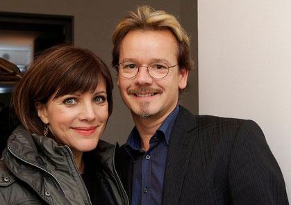 Foto:Ralf U.Heinrich:mit Birgit Schrowange 2012