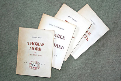 Opuscules édités par le TNP dans les années 60