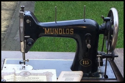 # 1.786.624 MUNDLOS  Type 115  (date on warranty 1942)