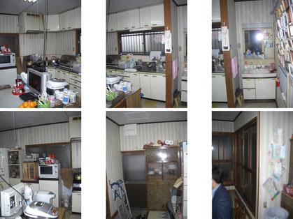 建築 施工例 リフォーム施工前の写真