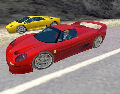 Need for Speed: Hot Pursuit 2 - Rennfahrt Ferrari gegen Lamborghini