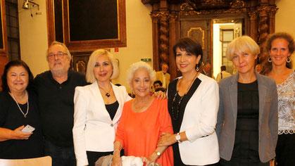 Competition Jury 2016 - Horiana Branisteanu, Giacomo Aragall, Eteri Lamoris, Teresa Berganza, Natela Nicoli, Nona Lomidze, Nora Schmid