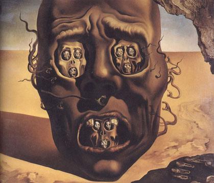 Лицо войны - самые известные картины Сальвадора Дали