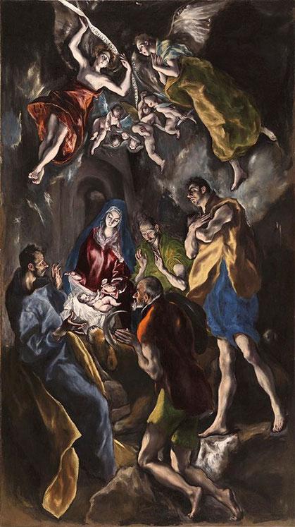 Шедевры музея Прадо - Поклонение пастухов - Эль Греко