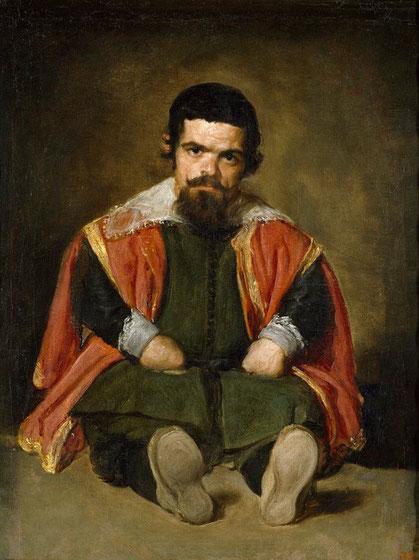 Королевский шут дон Себастьян де Морра - Веласкес