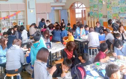 大泉婦人会リフォームクラブ 大泉農村センター開催 ガラスアート体験教室