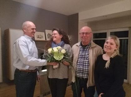 Gereon Kohl, Dr. Bärbel Schulte, Herbert Longen, Alena Carroll