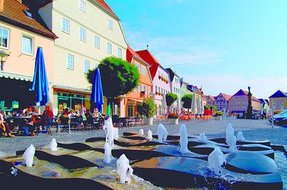 Flaniermeile Bad Neustadt - Quelle: Tourismus und Stadtmarketing Bad Neustadt