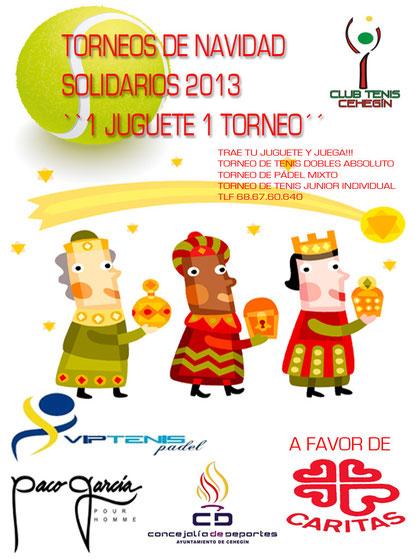 Torneos Tenis Pádel Caritas 2013 Cehegín