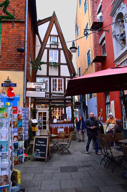 Der Schnoor in Bremen 07