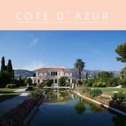 Hochzeit an der Côte d'Azur