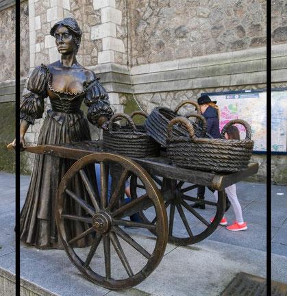 Molly Malone - Ohne einen Besuch bei Molly gibt es keinen Dublin-Aufenthalt.