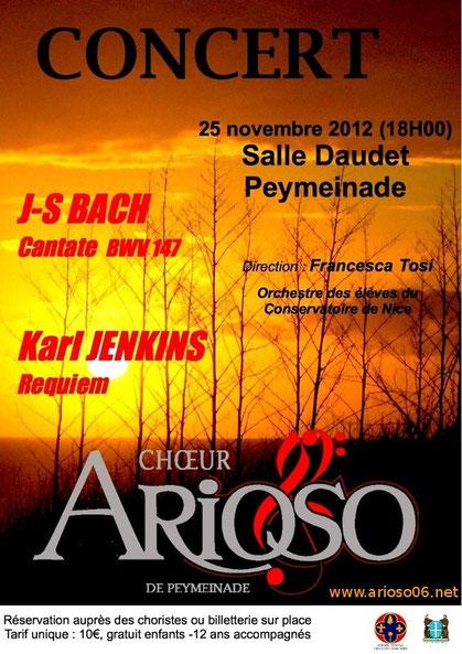 concert Arioso à Peymeinade