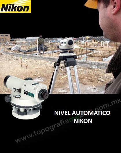niveles automaticos Ap-8 nikon