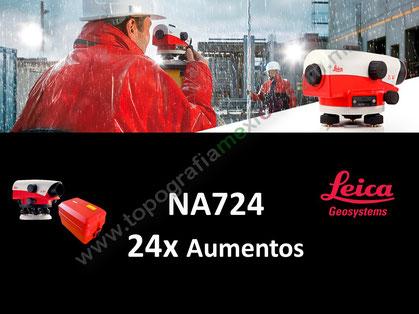nivel automatico leica na724
