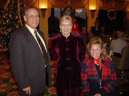 Director John Yost, former Manager Midge Somes, former Accompanist Linda Miska Soler (2003)