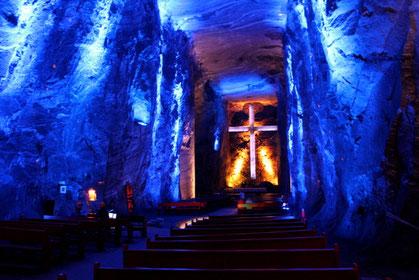 Salzkathedrale Zipaquirá Kolumbien Cundinamarca
